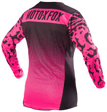 fox motocross jerseys fox racing 180 women u0027s jersey size xs only cycle gear