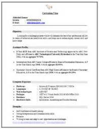 Sample Resume For Ece Engineering Students by Resume Templates Resume Format For Diploma Freshers In Ece Buy
