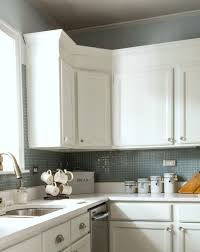 Adding Crown Molding To Kitchen Cabinets by How To Add Height To Kitchen Cabinets