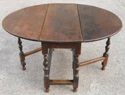 Antique Oak Gateleg Dining Table  Sellingantiquescouk - Gateleg kitchen table