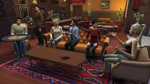 someone recreated friends in the sims 4 and did a damn fine job