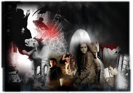 halloween vampire background vampire kisses images happy halloween from the vampire diaries