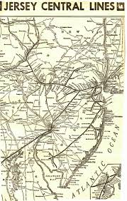 Pennsylvania Railroad Map by Cnj