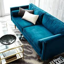 peacock blue sofa fun peacock blue tufted sofa u2013 geranbaha info