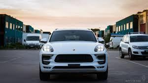 Porsche Macan White - detailed 2015 porsche macan s type 95b white affinesse