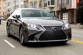 lexus that looks like a lamborghini lexus ls 500h f sport 2018 review autocar