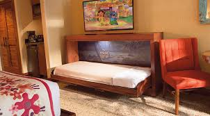 Bunk Bed With Pull Out Bed A Secret Sleeper Bed At Disney U0027s Polynesian Villas U0026 Bungalows