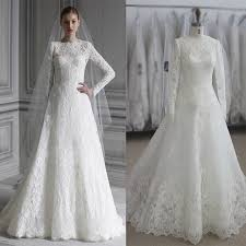 lace wedding dress with sleeves sleeve wedding dress muslim dress 2017 simple white