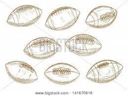 retro balls american football game vector u0026 photo bigstock