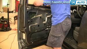 2001 dodge dakota window regulator how to install replace front power window regulator dodge durango