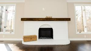 How To Resurface A Brick Fireplace by How To Paint A Brick Wall Or Fireplace Angie U0027s List