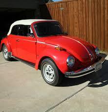 volkswagen beetle red convertible 1979 volkswagen beetle convertible ebth