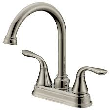 bar sink faucets brushed nickel