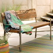 reclaimed wood iron framed furniture collection vivaterra