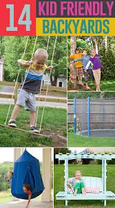 Kid Friendly Backyard Ideas On A Budget 14 Ways To Make Your Backyard Kid Friendly On A Budget