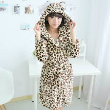 robe de chambre leopard de chambre leopard