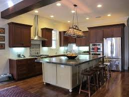 interior design for kitchens modern craftsman interior design modern kitchen with light in the