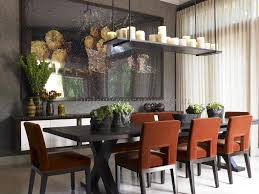 Rectangular Light Fixtures For Dining Rooms Photos Hgtv In Rectangular Chandelier Dining Room Plans 6