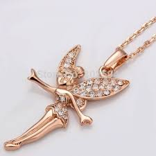 fairy jewelry necklace images N010 n011 fairy angel fashion jewelry wedding women lady gold jpg