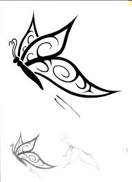 8 best butterfly tattoo drawings images on pinterest best