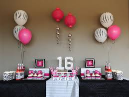 sweet 16 birthday party ideas best images collections hd for