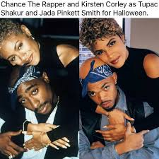 Tupac Memes - dopl3r com memes chance the rapper and kirsten corley as tupac
