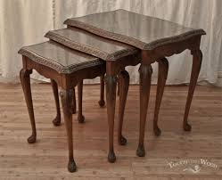 new arrival shabby chic french style nest of tables no 25 touch