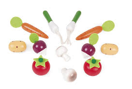 Dinette En Bois Janod by Janod J05610 Cagette De 12 Fruits Bois Amazon Fr Jeux Et