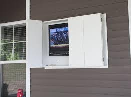 outdoor tv cabinet enclosure diy outdoor tv enclosure interesting ideas for home