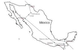 Chihuahua Mexico Map by 10mexca
