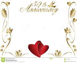50th wedding anniversary 50th wedding anniversary border royalty free stock photo image