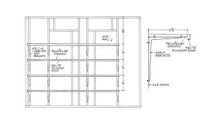Free Wooden Shelf Bracket Plans by Free Gable Shed Plans Part 3 Free Step By Step Shed Plans