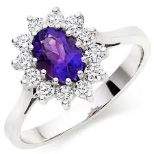 amethyst rings images 18ct white gold diamond amethyst ring 0011826 beaverbrooks the