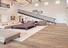 wonderful wood floor living room this smoked black oak wide plank