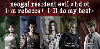 resident evil 0 hd ot i u0027m rebecca let u0027s do our best neogaf