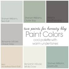 two points for honesty whole house paint palette chablis home