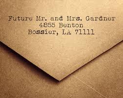return address wedding invitations items similar to 25 rustic return address envelopes a2 envelopes