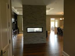 rijus home design reviews double sided gas fireplace in bungalow entry toronto by rijus