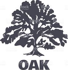 oak tree logo silhouette vector stock vector art 522899295 istock