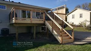 new cedar deck with custom privacy des moines deck builder
