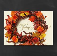 personalized thanksgiving cards business personalized