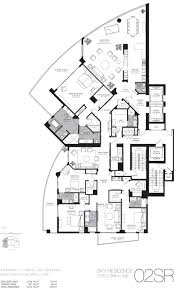 interior luxury home floor plans within stylish one story 4000