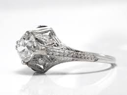 rings mens diamond rings white sapphire engagement rings