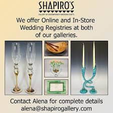 online wedding gift registry gift registries at shapiro s gallery