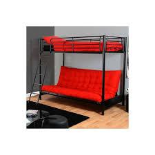 lit en hauteur avec canapé lit mezzanine avec banquette futon canapé lit futon pas cher vasp