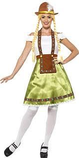 d馮uisement femme de chambre smiffys 45513x1 déguisement femme de chambre bavaroise vert taille