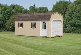 1 Car Garage Sheds Barns U0026 Garages Pine Ridge Barns