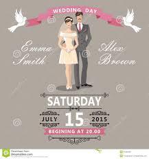 groom to wedding card and groom wedding invitation stock vector