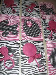 punky u0027s party place pink u0026 black zebra u0026 polka dots baby shower