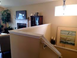 Replace Banister With Half Wall Half Wall Staircase Cottage Update Tweaking The Stairs Design